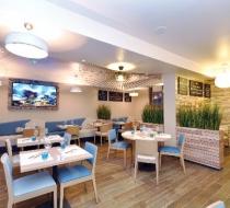 Mobilier chaise banquette restaurant Arras amarine