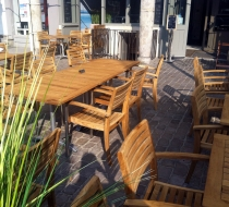 Mobilier terrasse amarine arras plaza mobilier