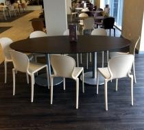 table-ovale-sur-mesure plaza mobilier