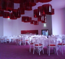 ambiance glamour salle reception casino cabourg plaza mobilier