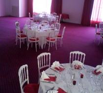 table reception pliable