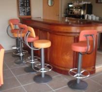 Comptoir bar tabouret bar plaza