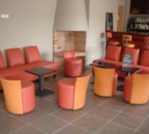 canapé banquette club lounge