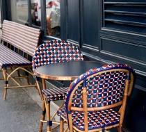 chaise rotin naturel