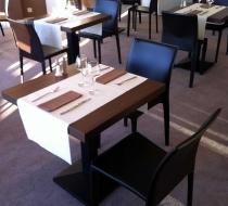 chaise design cuir