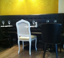chaise restaurant baroque