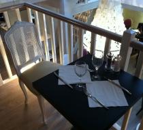 mobilier restaurant néogothique