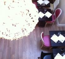 restaurant mobilier chaise medaillon