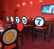 Chaise haute mange debout casino