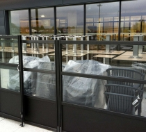 fauteuils tatami + claustra angle