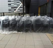 fauteuils tatami encore emballé