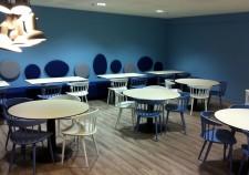 Salle de réception privée complexe restaurant méridien Ibos
